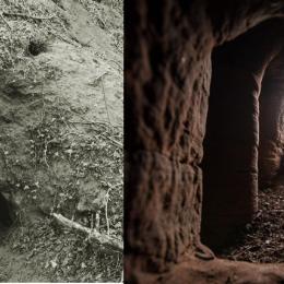 Caverna de 700 anos utilizada pelos Templários é descoberta graças a uma toca de coelho