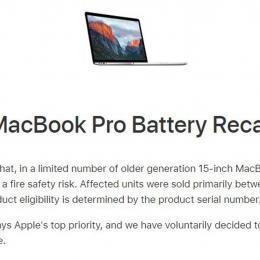 Apple faz recall de MacBooks Pro por conta de risco de incêndio
