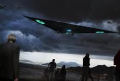 Marinha dos EUA obtém a patente para uma nave futurista