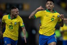 Brasil vence Peru no Maracanã e conquista a Copa América