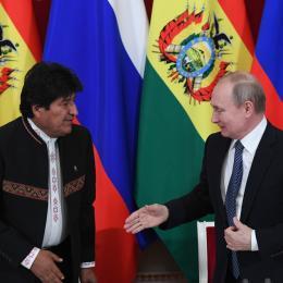 O plano de Putin e Evo Morales para construir a usina nuclear mais alta do mundo