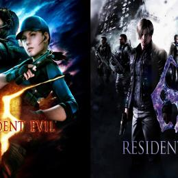 Resident Evil 5 e RE6 chegam em outubro ao Nintendo Switch