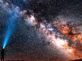 Um espetacular registro do centro da Via Láctea