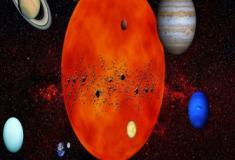 Qual a composição do sistema solar?