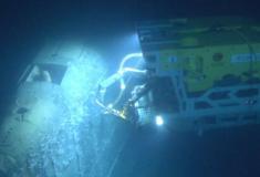Submarino soviético naufragado na Noruega está vazando radiação no mar