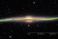 Novo estudo mostra que nem a Via Láctea é plana