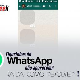 Figurinhas do WhatsApp não aparecem? Saiba como resolver