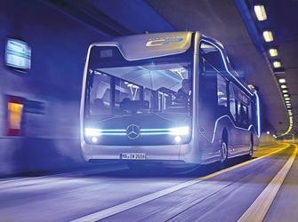 Daimler Buses apresenta ônibus urbano de condução autônoma