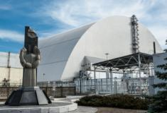 Sarcófago em ruínas de Chernobyl, será desmantelado