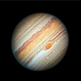 Nasa divulga nova imagem de Júpiter feita pelo Hubble