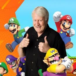 Conheça Charles Martinet, o dublador de Mário e Luigi!
