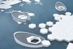 Designers projetam um submarino para criar icbergues e voltar a congelar o Ártico