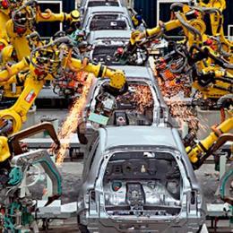 A evolução histórica das linhas de montagens de veículos