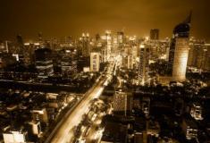 Capital da Indonésia à beira do colapso