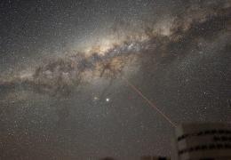 Buraco negro no centro da Via Láctea ficou 75 vezes mais brilhante
