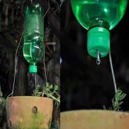 Aprenda a fazer um gotejador de forma simples para suas plantas