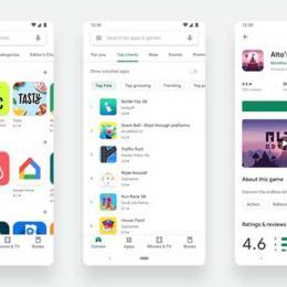 A Play Store do Google recebe uma atualização visual