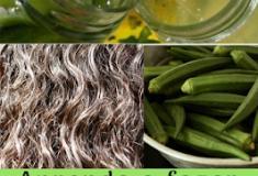 Aprenda como fazer os cabelos crescerem com o famoso gel de quiabo/ gel de quiabo