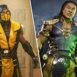 Já temos Scorpion e Shang Tsung
