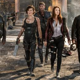 Fã faz poster teatral do reboot de Resident Evil nos cinemas com dois atores de Vingadores