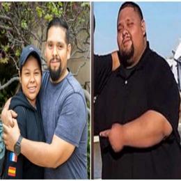 Homem emagrece mais de 80 quilos para salvar a irmã: 'Eu fiz isso por nós dois'
