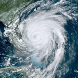 As características do furacão Dorian ligadas às mudanças climáticas