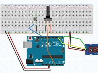 Cronômetro regressivo com display TM1637 e Arduino