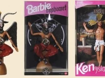 Bonecas Barbie são transformadas em  figuras religiosas