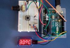 Display 4 dígitos (TM1637) como mostrador de temperatura - Arduino