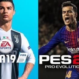 Qual jogo de futebol é melhor? Fifa ou Pes?