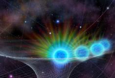 Buraco negro no centro da Via Láctea está ingerindo matéria como nunca