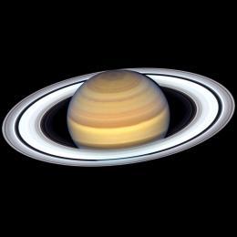 Hubble revela anéis de Saturno em registro espetacular