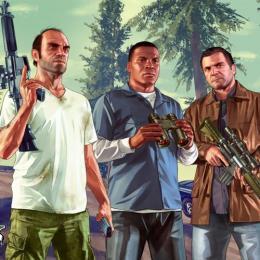 Os protagonistas de GTA V estarão no Brasil!