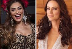 Rainhas sem rixa! Juliana Paes passa coroa à Paolla Oliveira
