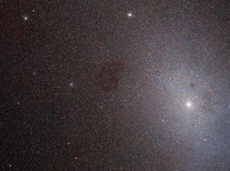 """Os segredos de uma galáxia """"quase"""" morta"""
