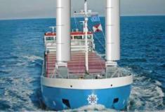 Velas semelhantes a asas vão ajudar navios a economizar combustível