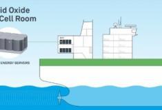 Samgung projeta células de combustível a GNL para navios