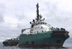 """""""Bourbon Rhode"""" afunda-se no Atlântico vítima do furacão Lorenzo"""
