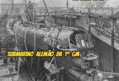 Por dentro de um submarino alemão - U-BOOT -  da 1ª GM