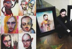 As peculiares pinturas de Marilyn Manson - Parte II