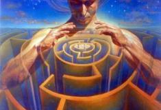 Cada um tem sua missão em meio ao labirinto da vida!