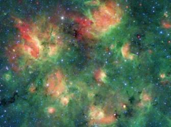 O Festival de bolhas cósmicas na constelação da Águia