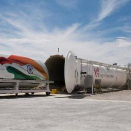 Em 2020, Hyperloop arranca na Índia, permitindo viajar a 1078 km/h