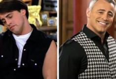 Antes e depois do elenco de Friends