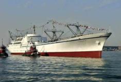 Os navios movidos a energia nuclear