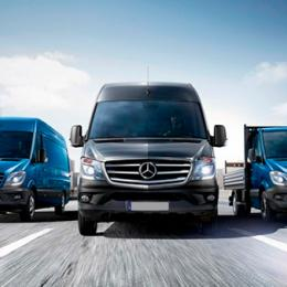 Mercedes-Benz aumenta em 70% as vendas da Sprinter