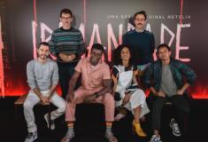 Equipe de Irmandade se reúne em São Paulo para lançamento da série