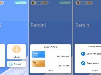 Restaure fotos antigas com o app