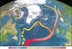 Corrente quente do Atlântico pode estar a alterar o outro lado do mundo