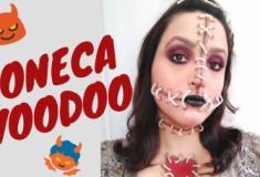 Make de Halloween - Boneca Voodoo